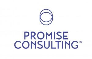 Promise logo full blue